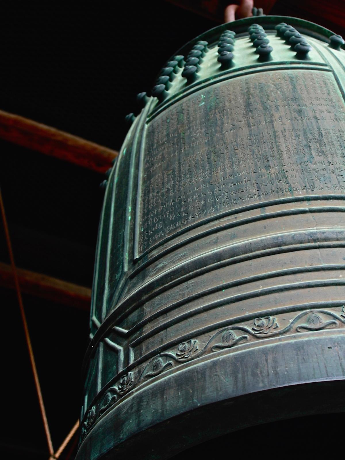毎日10:00〜16:00まで、毎正時にも時の鐘が鳴らされています