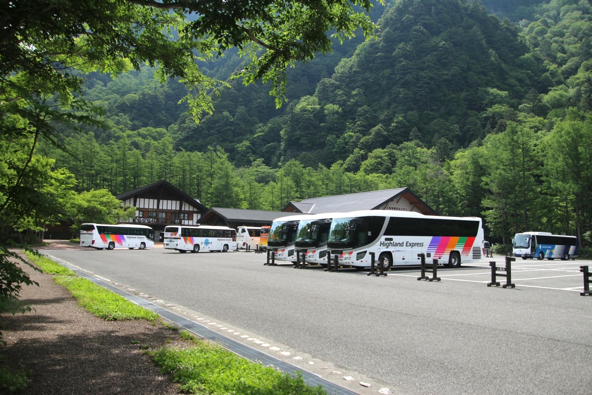 上高地バスターミナル(上高地観光センター)