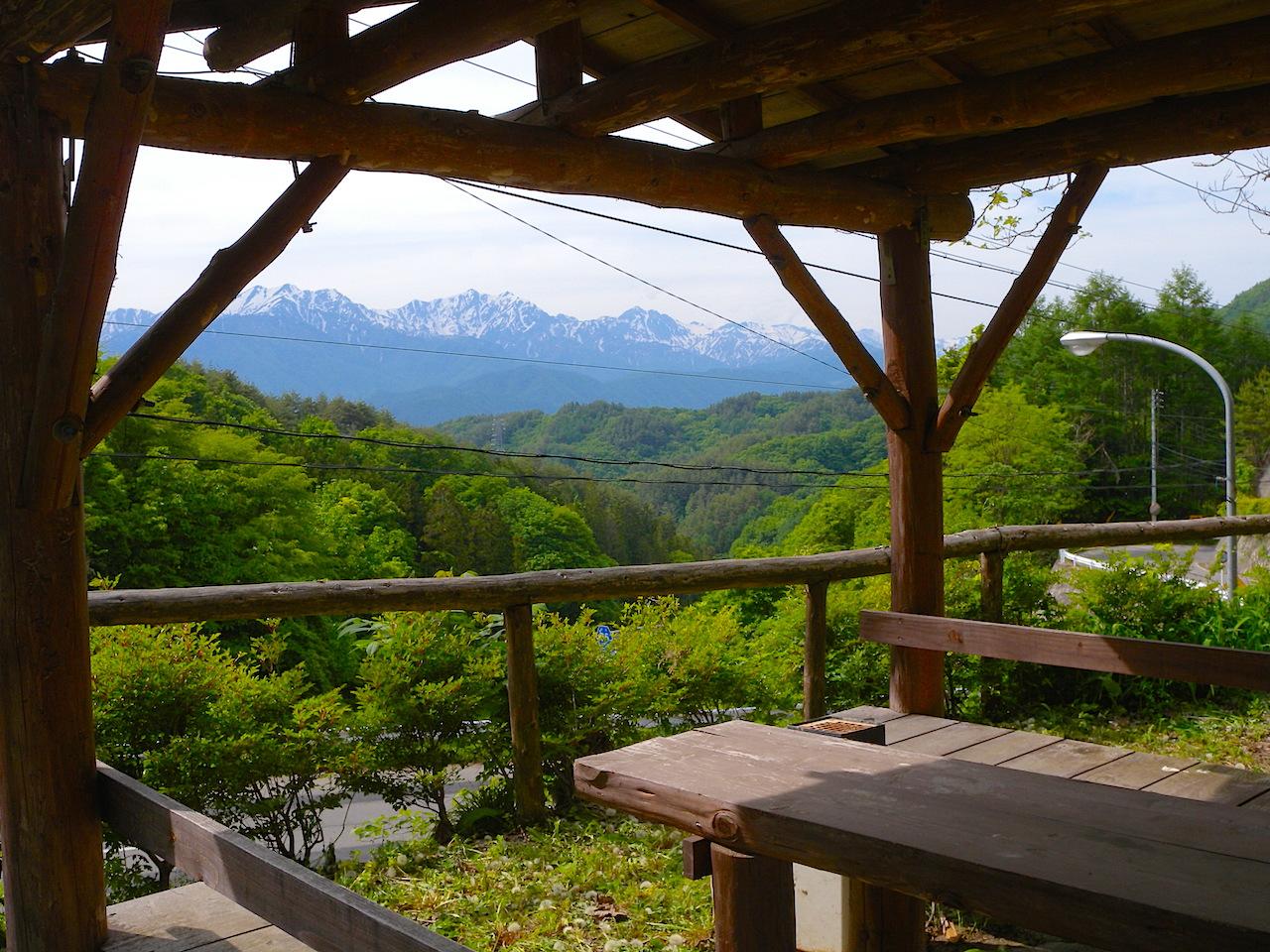 相川峠展望台