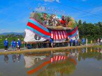 熊野神社の御船祭り 安曇野市三郷