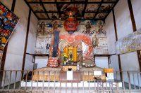 真田信之ゆかりの典厩寺に巨大な閻魔大王像発見!(長野市)